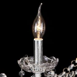 12 Arms K9 Crystal Cut Glass Large Chandelier Pendant Ceiling Candle Light E12