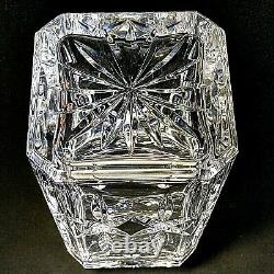 1 (One) ATLANTIS FERNANDO Cut Lead Crystal Decanter 10 1/2 Signed DISCONTINUED