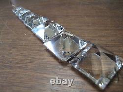 27 pc Vintage 7 Long Cut Crystal Prisms for Sconces Lusters Lamps Chandelier