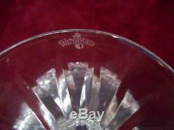 2 Waterford Crystal Brandy Snifters Clarendon Cobalt Blue Cut to Clear