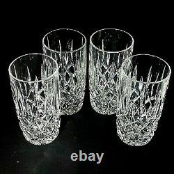 4 (Four) GORHAM Lady Anne Cut Lead Crystal Highball Glasses-DISCONTINUED