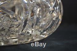 Antique American Brilliant Cut Crystal Rose Bowl Vase