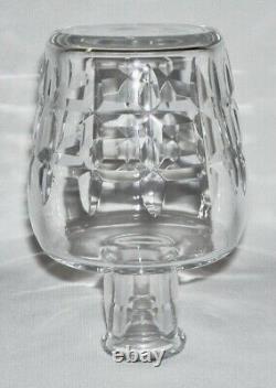 BACCARAT Vintage Model Cut Crystal 2-Pc LIQUEUR DECANTER (Marignanne) France