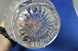 Baccarat Colbert Crystal Decanter & Stopper Cut Glass Design