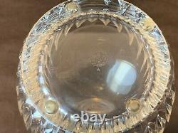 Baccarat Crystal Massena Decanter with Stopper 11 1/4H Clear Cut France READ #2