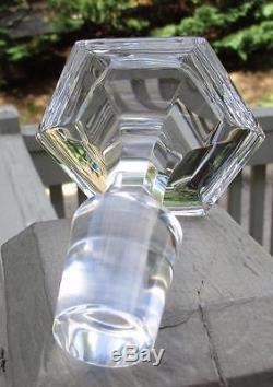Baccarat Cut Crystal Large HARCOURT Decanter 11 7/8 MSRP $1,435.00