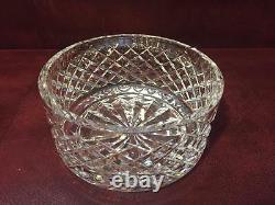Beautiful Waterford Alana Cut Crystal Centerpiece Bowl