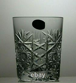 Bohemia Crystal Queen Lace Cut Tumblers Set Of 6 3 1/2 (9 Cm) Tall