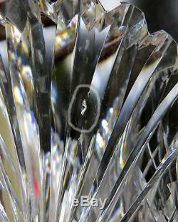 Brilliant Cut Glass Crystal Trumpet Vase Dorflinger Hawkes Pairpoint 12 tall