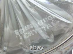 EDINBURGH Crystal THISTLE Cut Liqueur Decanter / Decanters 8 (1st)