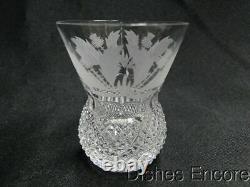 Edinburgh Crystal Thistle (Cut) Shot Glass (es) 2 1/2
