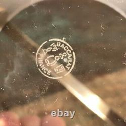 Fine French Baccarat, Nancy Pattern Cut Crystal Glass Ice Bucket