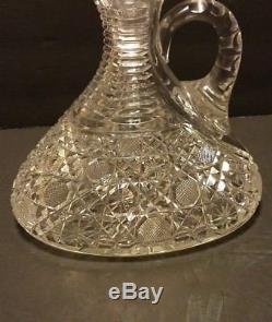 Hawkes American Brilliant Cut Glass Decanter Crystal 48