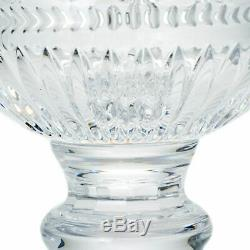 House of Waterford 17 Handmade Wedge Cut Crystal Footed Palace Urn