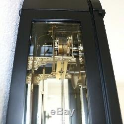 KIENINGER Wall CLOCK Design TOP RANGE 3 CUT Crystals TRANSLUCENT GONG High Gloss