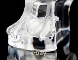 Lalique France Perdrix Debout Crystal Partridge Bird Figurine Signed 7