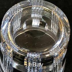 Ralph Lauren Crystal Glen Plaid Ice Bucket Barware Cut Plaid Pattern