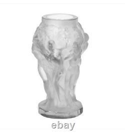 Rare ART DECO Crystal Small Vintage Vase Czech Bohemian Hand Cut Glass