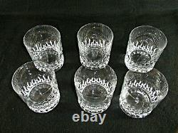 Rare Antique BACCARAT Flawless Crystal 6 x Whiskey Tumbler with Deep Panel Cut