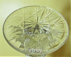 Rare & Elaborate 19 Mid-19th C. Cut Crystal CRICK Light c. 1860 antique