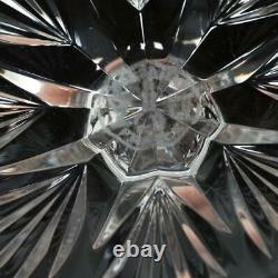 Set Of Three (3) Baccarat Crystal Lagny Claret Wine Glasses, 6.5