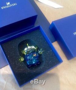 Swarovski Disney NEW Toy Story Pizza Planet Alien cut crystal Gift Bag 5428575