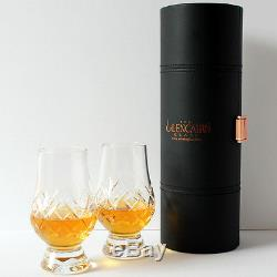 The Glencairn Official Cut Crystal Whisky Glass Set of 2 (Travel Case)