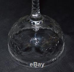 Vintage Hawkes American Cut Crystal Wine Glasses Set of 12