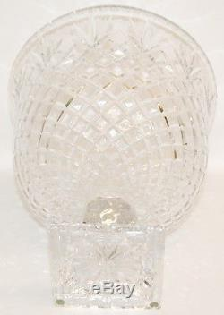 Vintage Large ABP ABC Cut Glass Crystal Punch Bowl Unsigned