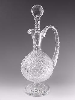 WATERFORD Crystal Master Cutters Cut Claret Jug Decanter 13