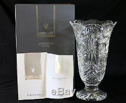 Waterford 14 Cut Crystal Winter Wonderland Vase Limited Edition with COA