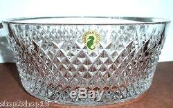 Waterford ALANA 8 Bowl Diamond Cut Crystal #150424 Retail $325 New Boxed