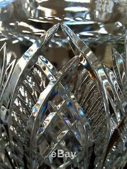 Waterford Crystal 14 STUNNING MASTER CUTTER VASE BEAUTIFULLY CUT MASTERPIECE