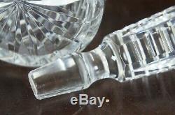 Waterford Crystal Cut Lismore Wine Liquor Spirits Decanter & Stopper Barware 13
