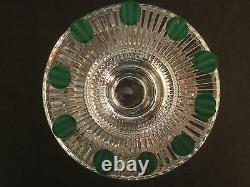 Waterford Crystal Heritage Prestige Collection Cut Round Footed Bowl Centerpiece