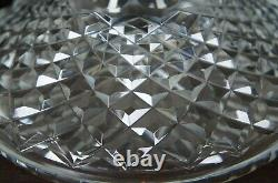 Waterford Lismore Irish Cut Crystal Ships Decanter Bottle Barware Liquor Spirits