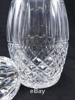 Waterford Maeve 10 1/2in Spirit Decanter & Stopper Clear Cut Crystal